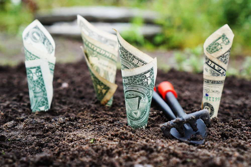כסף באדמה